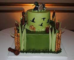 Duck Hunting Grooms Cake Cakecentralcom
