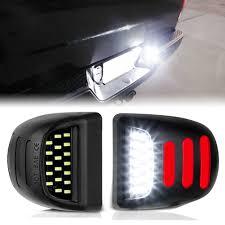 2000 Gmc Sierra Daytime Running Light Bulb Number 2pcs 12v Led Number License Plate Light For Chevrolet