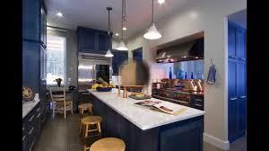 Dark Blue Kitchen Cabinets Blue Kitchen Cabinets Youtube
