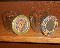 ball quilted crystal jelly jars vintage. vintage 8 oz. jelly jars - ball quilted crystal metal lids o