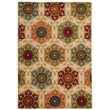 home decorators collection amelia medallion multi 8 ft x 10 ft area rug 443178 the home depot