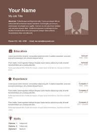 Teacher Resume Template Free Word Preschool Teacher Resume Template Free Word Download Resume Best 37