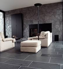 Small Picture Black limestone floor tiles ideas for contemporary living room