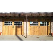 picture of homemade carriage house garage