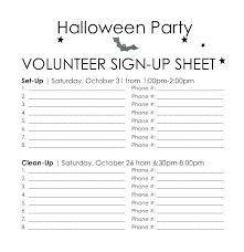 Template Maker Volunteer Calendar 9 Download Free Parent Sign Up