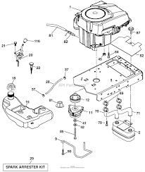 ariens 936054 960460027 02 54 gear tractor parts diagram for engine ariens 936054 960460027 02 54 gear tractor engine parts diagram