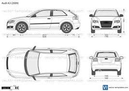Templates Cars Audi Audi A3