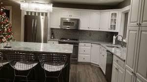 viscont white granite modern kitchen