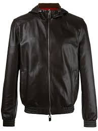bally reversible hooded jacket 00221 men clothing leather jackets bally belts
