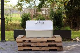 Amazoncom Vintage Style High Back Farm Sink Apron Kitchen Utility