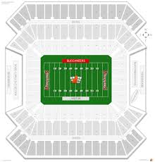 Raymond James Stadium Seating Chart Concert 17 Explicit Buccaneers Stadium Seating