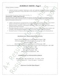 Sample Special Education Teacher Resume 8 Page 2