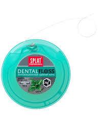 Антибактериальная супертонкая <b>зубная нить</b> SPLAT Professional ...