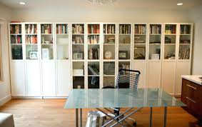 office bookshelves designs. Book Shelf Design View In Gallery Simple And Sleek Bookshelf With Glass Doors For The Office Bookshelves Designs