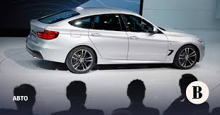 Пятидверный хетчбэк BMW 3-й серии Gran Turismo - Ведомости