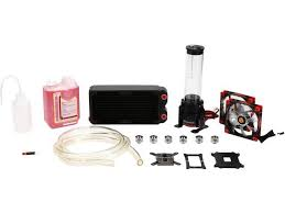 thermaltake pacific cl w063 ca00bl a diy lcs rl240 water cooling kit