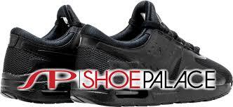 nike running shoes black air. air max essential low preschool running shoe (black) nike shoes black