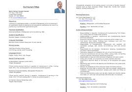 Example Of Resume For Practical Training Junior Cover Letter