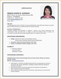 College Student Resume For Part Time Job Gentileforda Com