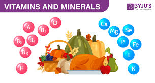 Vitamins And Minerals Sources And Functions Chart Vitamins And Minerals Types Sources And Their Functions