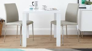 modern square white high gloss table 4 seater uk with 2 seat dining table sets