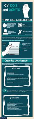Cv Do S And Don Ts Infographic Saul Partners