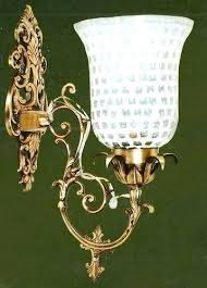 decorative wall sconce cast iron wall
