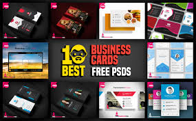 10 Free Business Cards 10 Best Business Cards Free Psd Psddaddy Com