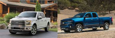 Head to Head: 2016 Ford F-150 vs. 2016 Chevrolet Silverado 1500 ...