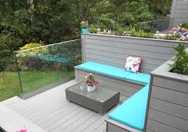 glass decking panels. Plain Glass Frameless Glass Balustrade On Decking Panels