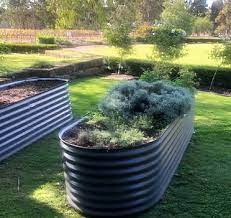 maitland sheet metal garden beds