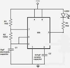 horn interrupter flasher techy at day blogger at noon and a shown is a led flasher this will be the base circuit of this horn interrupter by just putting a few other components like a mechanical relay resistor
