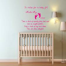 baby nursery decor susan wall stickers for girl name