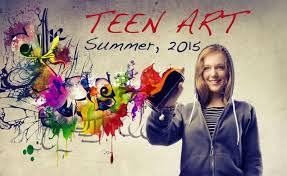 Center teen art program summer
