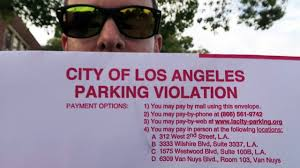 Challenging A Parking Ticket In Los Angeles Youtube