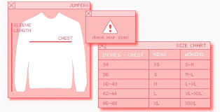 Size Guide Rokit Vintage Clothing