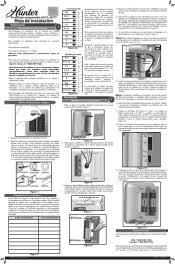 hunter thermostat wiring diagram wiring diagrams hunter 44272 manual