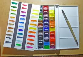 Unboxing The St Petersburg White Nights Watercolor Set