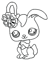 Little Pet Shop Coloring Pages Littlest Pet Shop Coloring Pages Free
