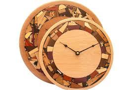 wood wall clocks mosaic wood wall clock size comparisons w mosaic wood rim chaney rustic wood wall clock