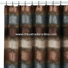 brown fabric shower curtains. Brown And Teal Shower Curtain Paradox Fabric By B Smith From China . Curtains S