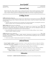 Resume Samples For Cooks Chef Resume Samples Updated Chef Resume Template Example For Free 2