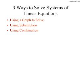 2 3 ways to solve