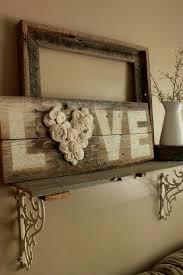 diy fence wood love sign