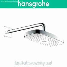 shower head select heads e set problems rain hansgrohe review 3 4 wall ceiling mount single 2 jet rain shower head hansgrohe