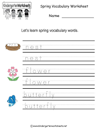 Reading Worksheet » Kindergarten Spring Reading Worksheets - Free ...