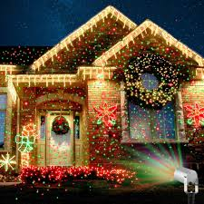 xmas lighting decorations. Outdoor Holiday Lighting Ideas Architecture. A Fda Approved Pool Camping Garden Christmas Laser Light Xmas Decorations