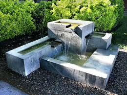 solar powered water fountain cascading outdoor garden terracotta fountains diy