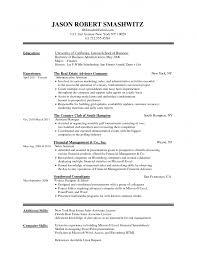 Resume Template Job Resume Format Word Document Free Career