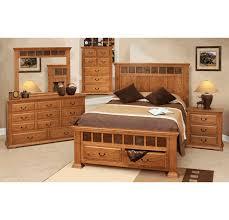 oak bedroom furniture sets. Cantera Rustic Oak Bedroom Furniture Set For Sets